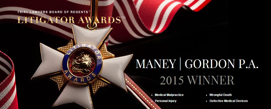 Maney   Gordon P.A.   The Litigator Awards